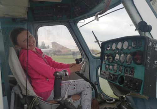 Aviacijos muziejus įdomus ir mergaitėms