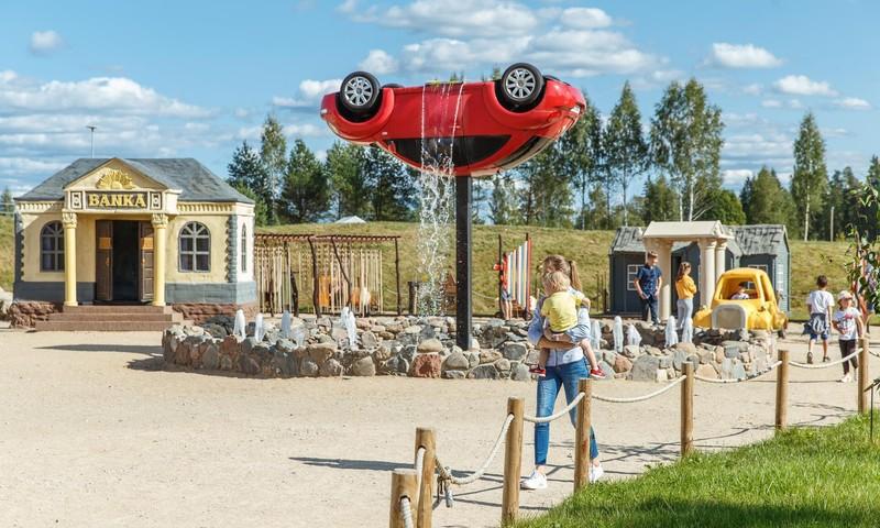 Dalyvauk KONKURSE ir laimėk kvietimą visai šeimai į pramogų parką AB PARK Latvijoje!