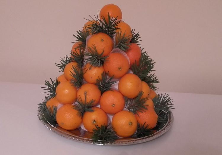 Mandarinų eglutė