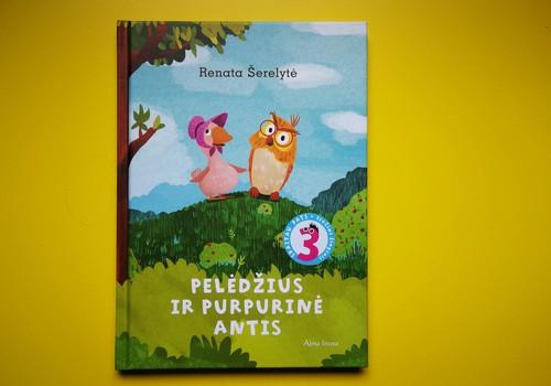 """Stebuklinga knygelė """"Pelėdžius ir Purpurinė Antis"""""""