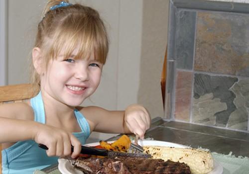Kokią mėsą pasiūlyti vaikams?