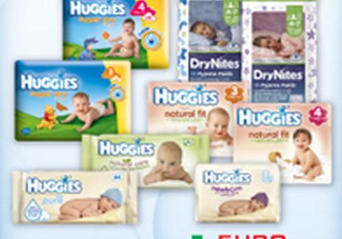 """Spalio mėnesį """"Eurovaistinėje"""" Huggies® produkcijai - iki 30% nuolaida!"""