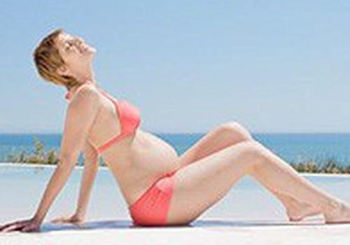 Saulės vonios nėštumo metu: ką atminti