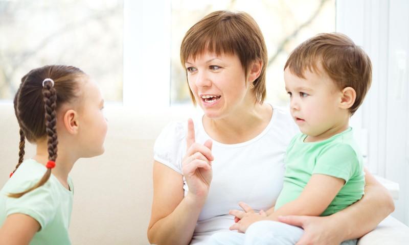 Kaip išmokyti vaiką suprasti NE?