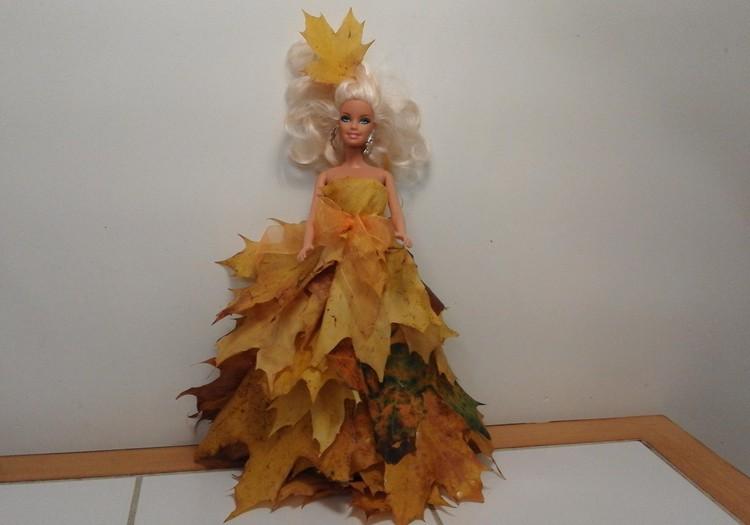 Kuriame iš rudens gėrybių: stebuklinga marga suknelė !