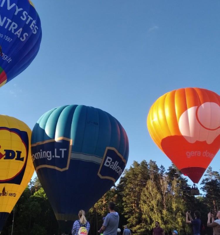 Išlydime balionus!