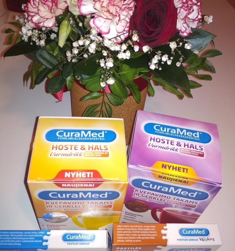 Pačiu laiku - CuraMed produktai