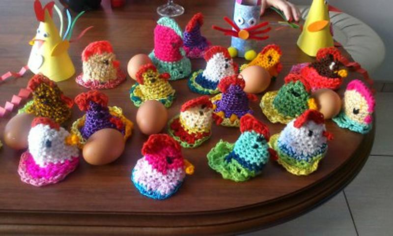 Nertos vištelės kiaušiniams
