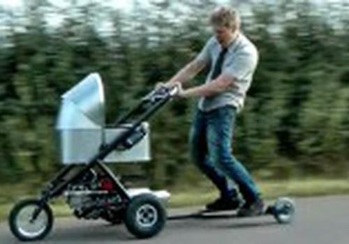 Greičiausias vaikiškas vežimėlis pasaulyje