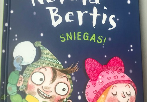 """Laimėk knygą """"Nevala Bertis. Sniegas"""""""