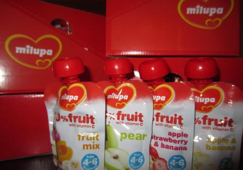 15 MK mamų ir mažylių ragaus MILUPA vaisių tyreles!
