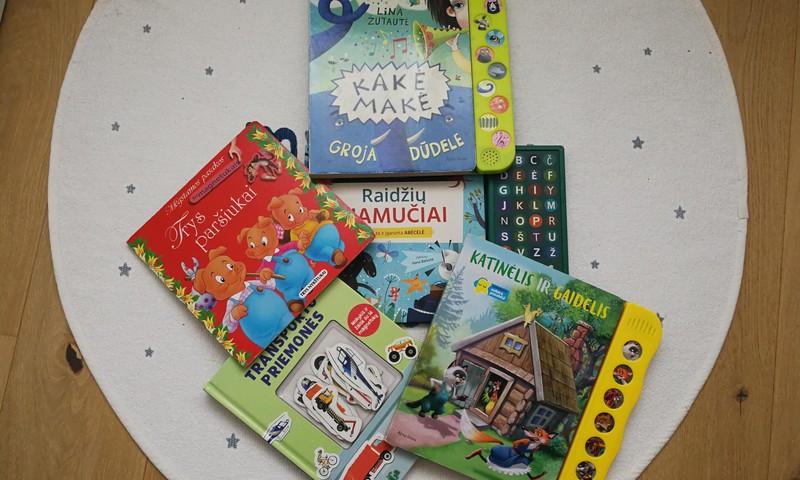 Jokūbo vaikiškų knygučių TOP 5