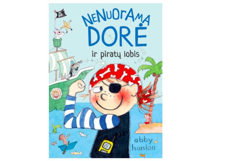 Knygos konkursas: Nenuorama Dorė ir piratų lobis
