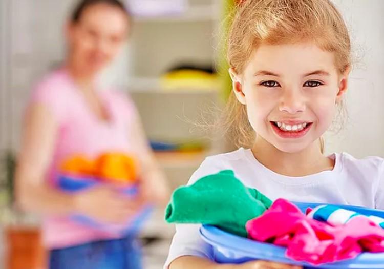 Mokykime vaikus tvarkytis nuo mažens