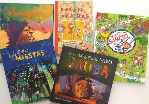 Knygos mažiesiems skaitytojams: sudominkime juos smagiomis istorijomis