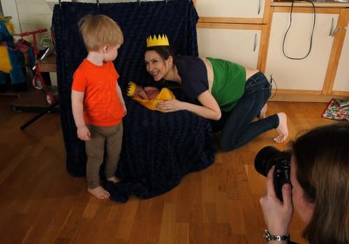 VIDEO: Ruošiamės pirmajai Super mažylio fotosesijai