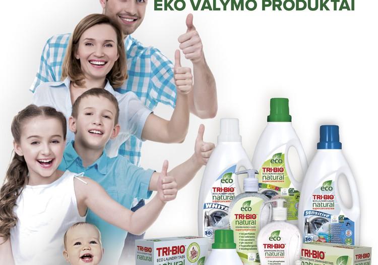 Ieškome testuotojų: TRI-BIO produktai - tau ir tavo šeimai