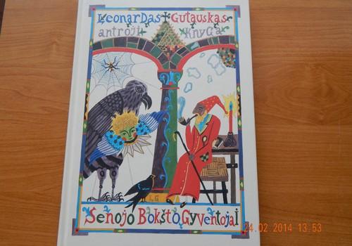 """Leonardas Gutauskas antroji knyga """"senojo Bokšto Gyventojai"""" Recenzija."""