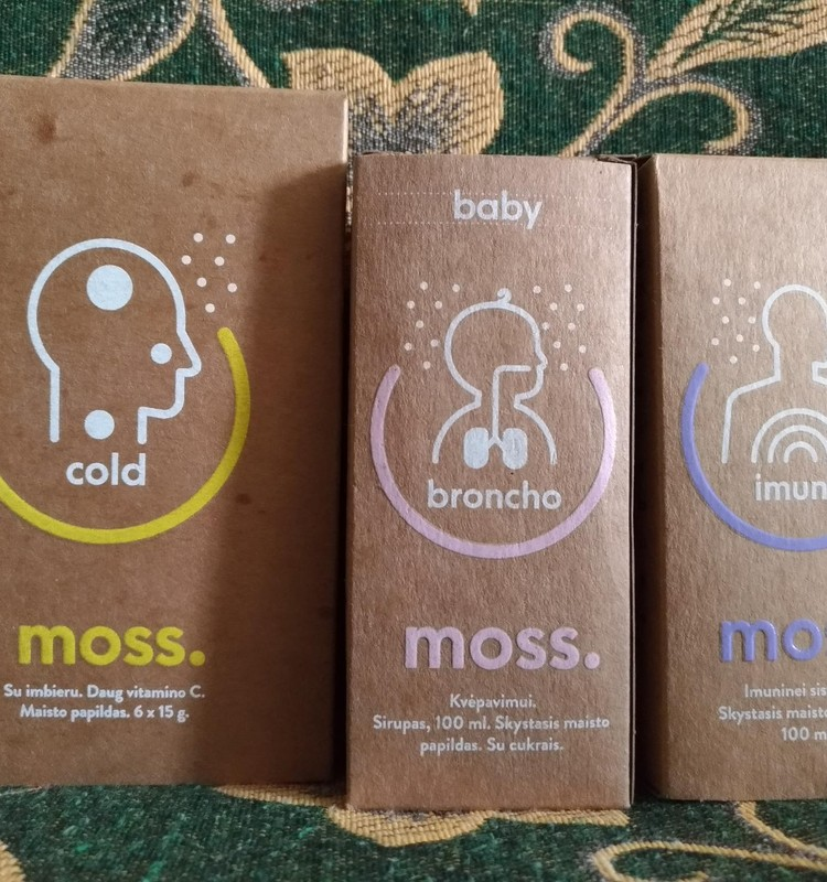 Stipriname imunitetus su Moss papildais :)