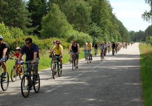 Nauji dviračių maršrutai po Dzukijos nacionalinį parką