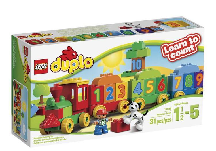 Žaisim su Skaičių traukinuku