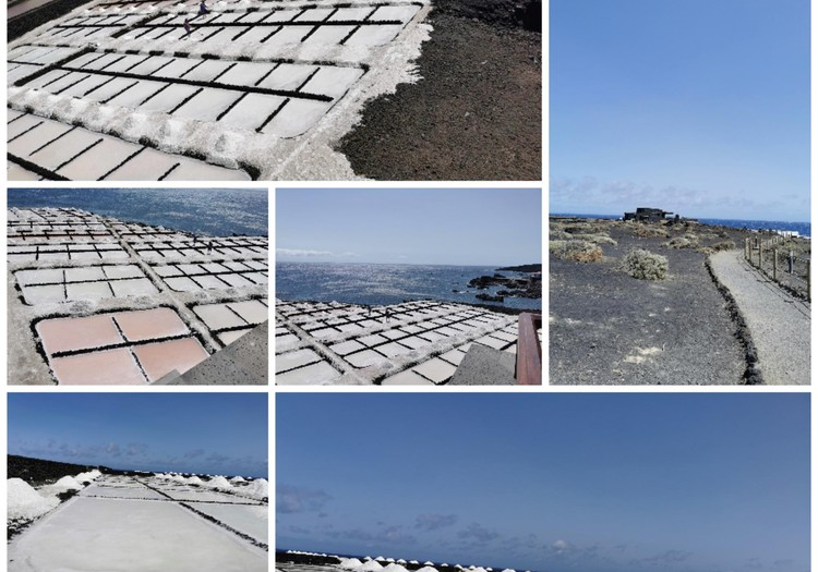 Vasaros gidas: La Palma (Ispanija) druskos fabrikas