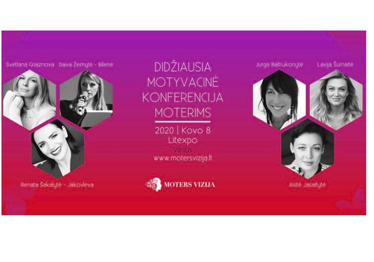 """Kviečiame į konferenciją """"Moters vizija"""" - kovo 8-ąją!"""