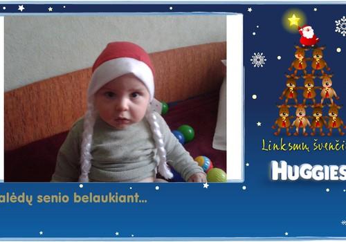 Lukas laukia Kalėdų Senelio