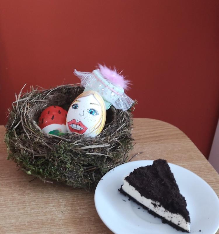 Velykinis Oreo tortas