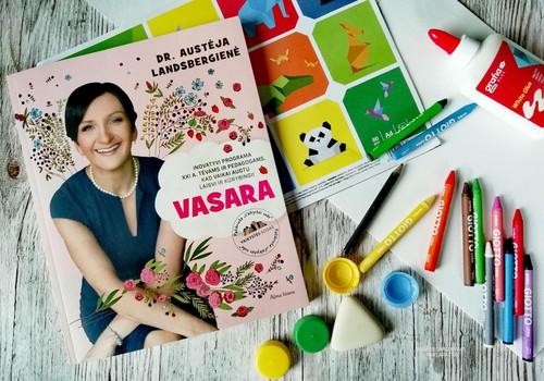 """Knygos """"Vasara. Inovatyvi programa XXI a. tėvams ir pedagogams"""" apžvalga"""