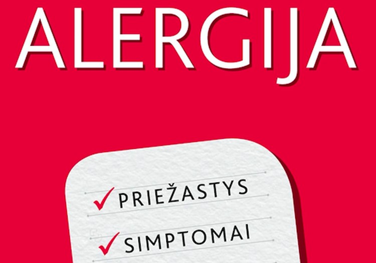 """Prof. Rūtos Dubakienės knyga """"Alergija"""" – apie alergijas aiškiai, patikimai ir be mitų: LAIMĖK"""