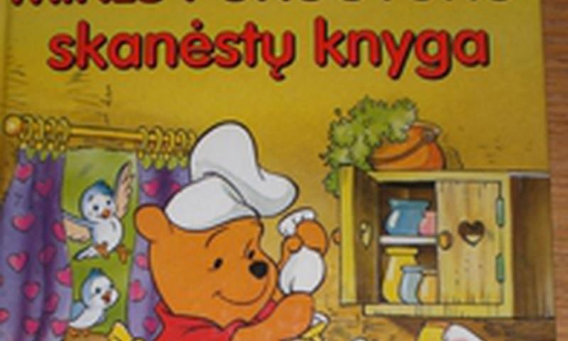 Mikės Pūkuotuko skanėstų knyga