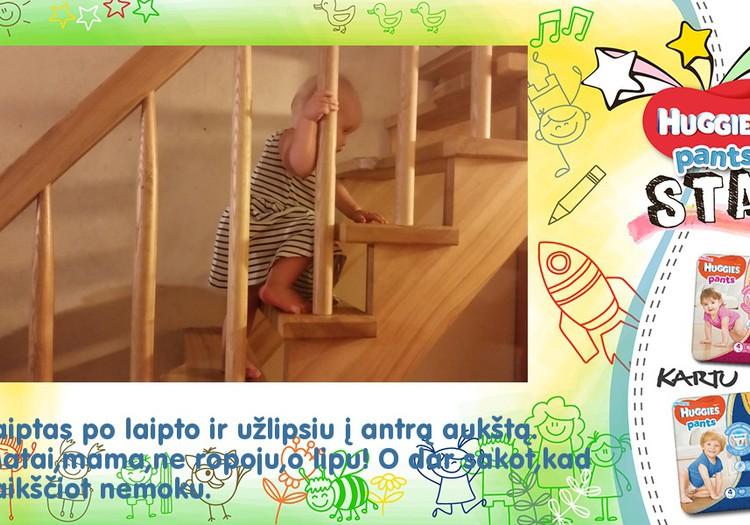 Aš moku lipti laiptais