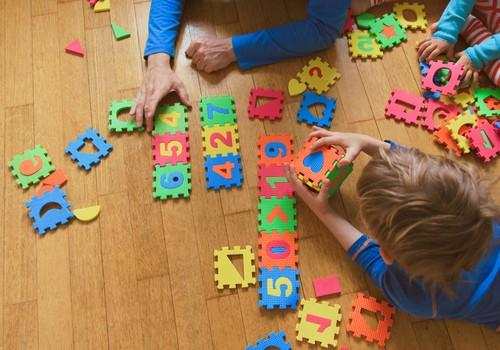 3 idėjos, kaip mažylius supažindinti su skaičiais