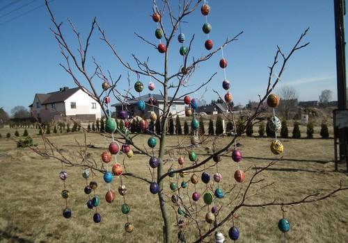 Mūsų pirmasis Velykų medis
