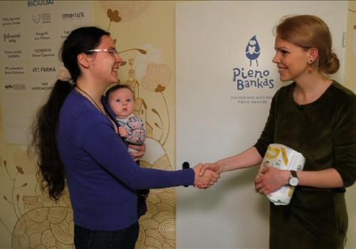 Naujovė Lietuvoje - Donorinio motinos pieno bankas