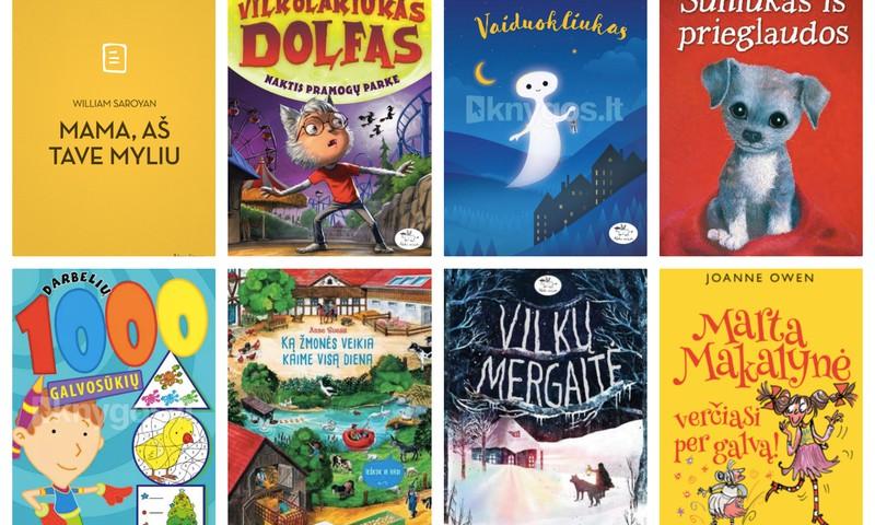 MAXIMA pristato vaikiškų knygų naujienas