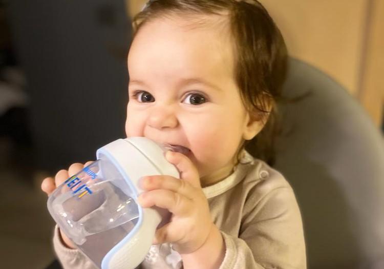 Kaip mes pradėjome gerti iš Philips Avent mokomojo puodelio NATURAL