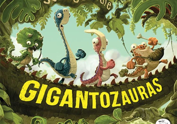 "Apie Nieko rimto knygelę ""Gigantozauras"""