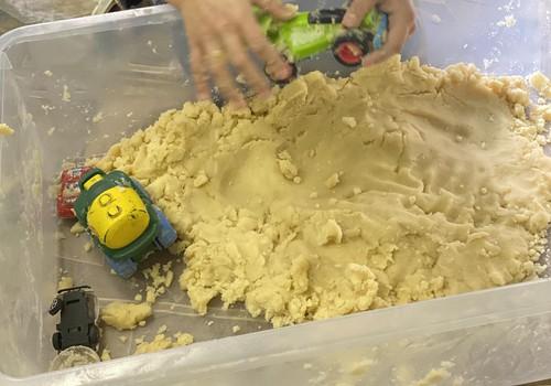 Smėlio gamyba iš namie turimų medžiagų