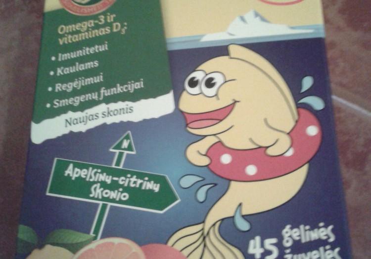 MÖLLER'S-žuvų-taukai