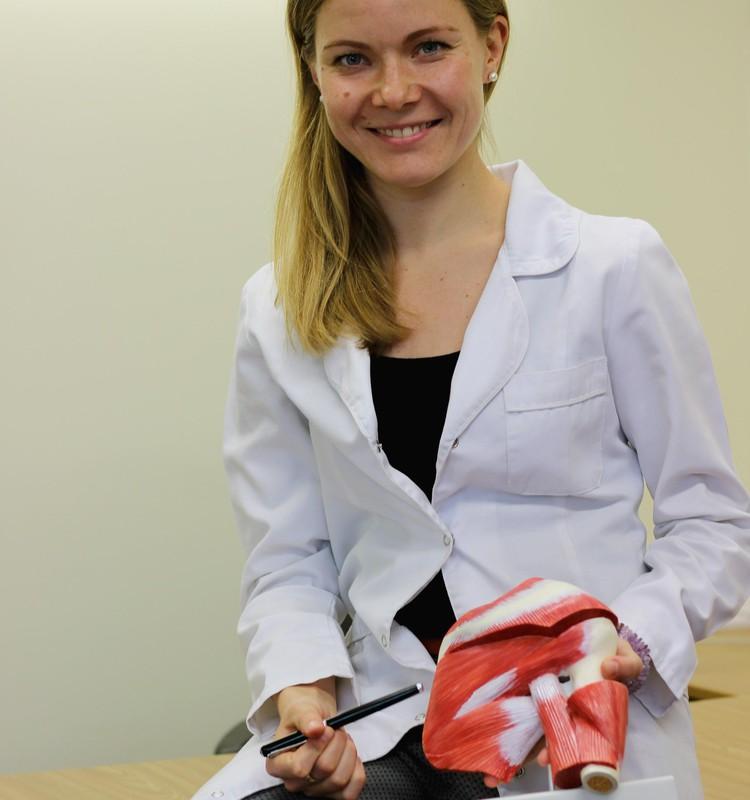 Gydytoja osteopatė: sveikatos tabletėje nėra, ji - žmogaus kūne