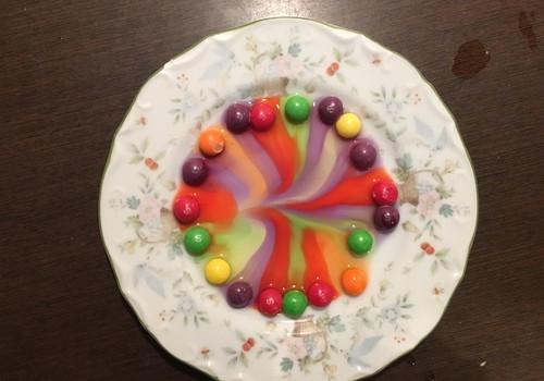 Eksperimentas su saldainiais