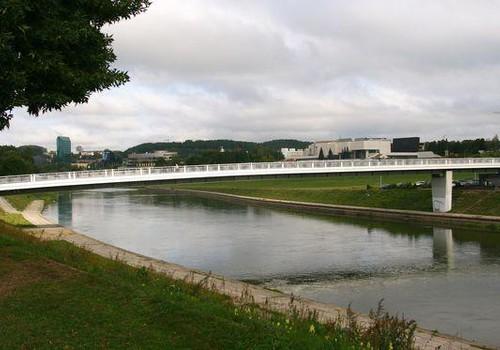 Erdvė aplink Baltąjį tiltą virs didžiausiu sporto aikštynu