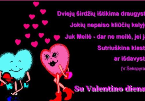 Su meilės diena!!