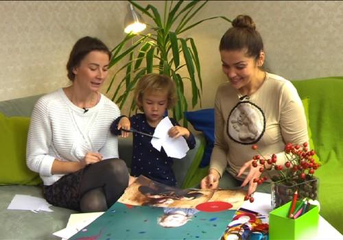 TV Mamyčių klubas 2015 11 28: lankomės pas gydytoją su kūdikiu, gaminame žaislą, kuriame šeimos kalendorių