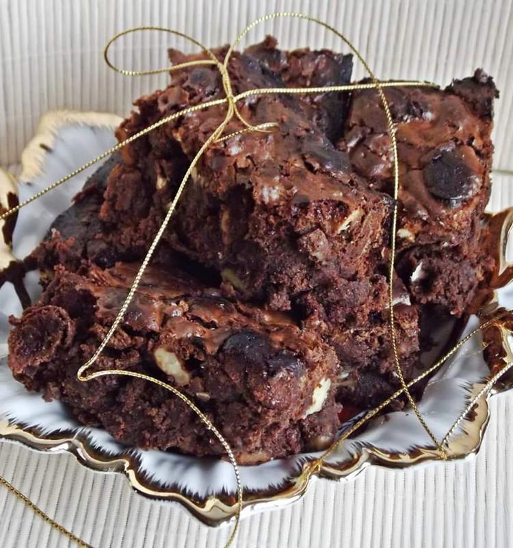 Šokoladinis pyragas Kalėdoms