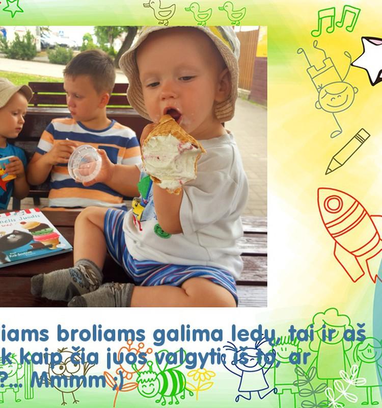 Noriu ledų! :)