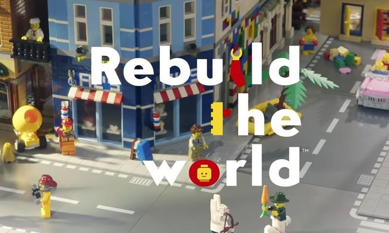 LEGO kviečia vaikus sukurti pasaulį iš naujo