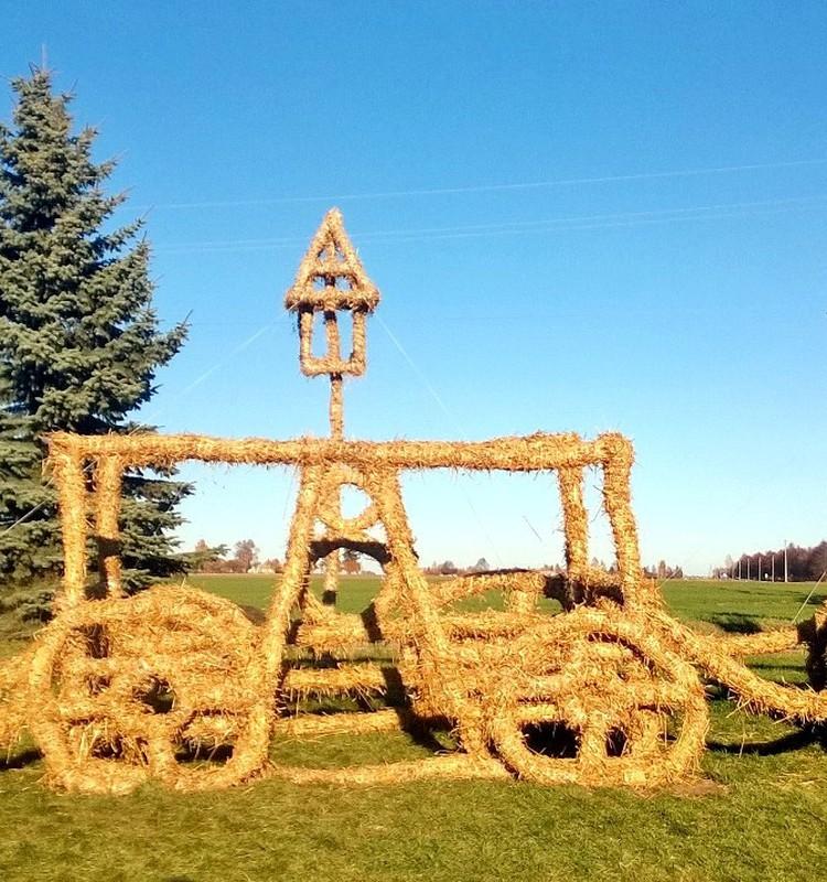 Aplankėme Šiaudinių skulptūrų parką